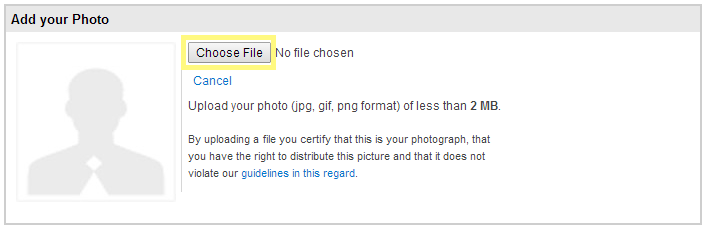 How to upload photograph on your NaukriRecruiter profile