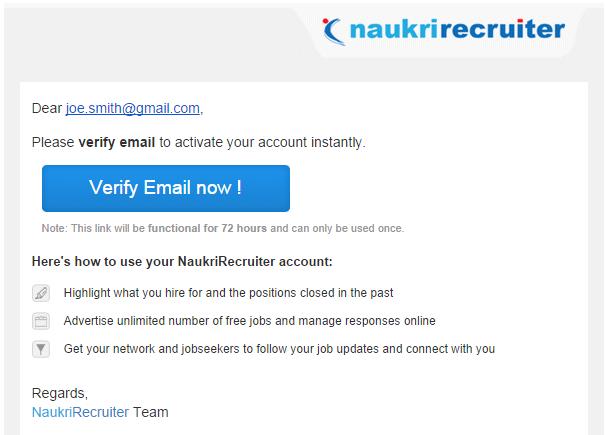 How to activate your NaukriRecruiter profile? | Recruiter Zone